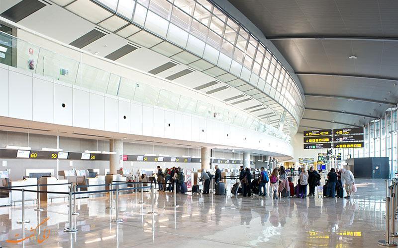 معرفی فرودگاه والنسیا اسپانیا