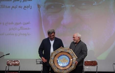 ظریف: افتخار می کنم که برای دفاع از ایران و مردم کشورم تحریم شدم