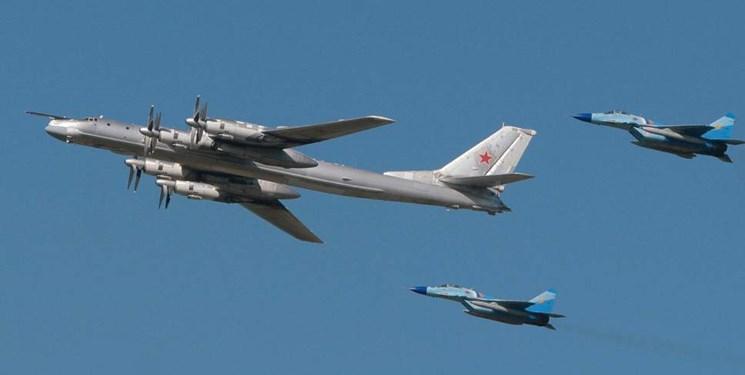 نزدیک شدن جنگنده ناتو به هواپیمای وزیر دفاع روسیه