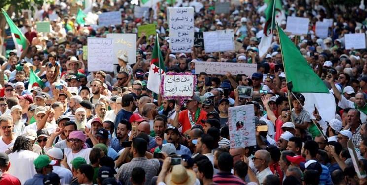 استمرار تظاهرات مردم الجزائر برای هفتمین ماه متوالی